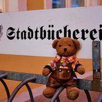 Ludwig besucht die Stadtbücherei