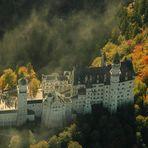 Ludwigs Home - Schloss Neuschwanstein  - zur schönsten Jahreszeit