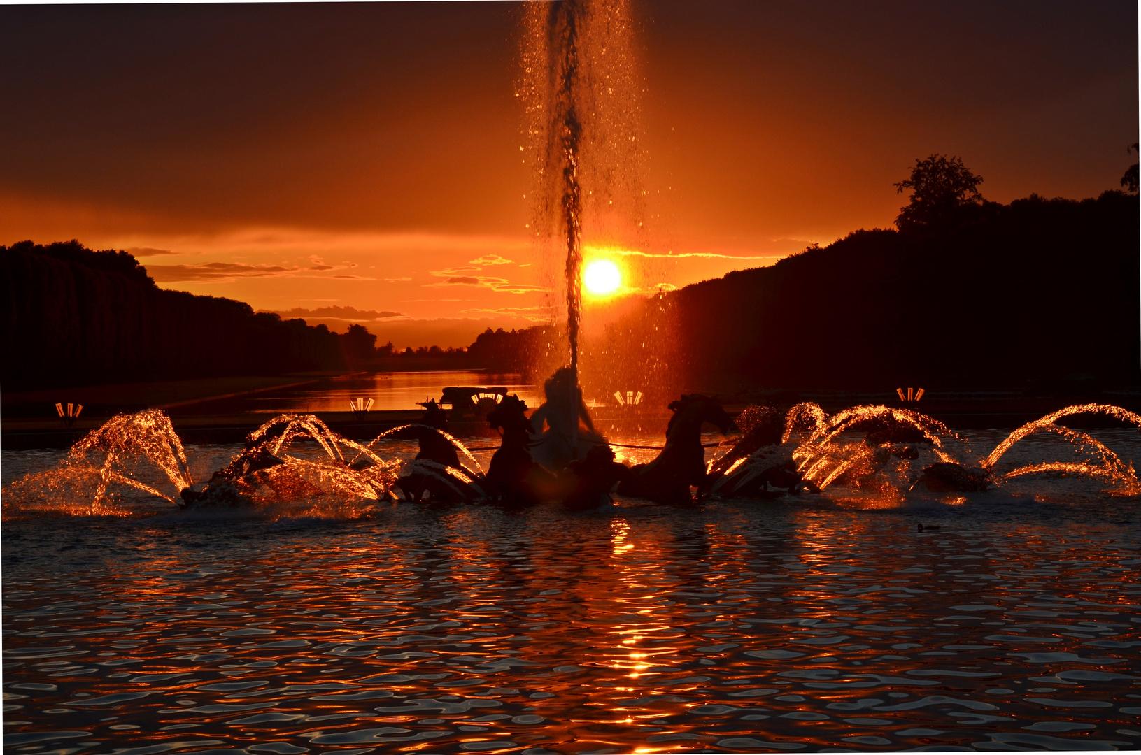 Ludwigs Sonnenuntergang