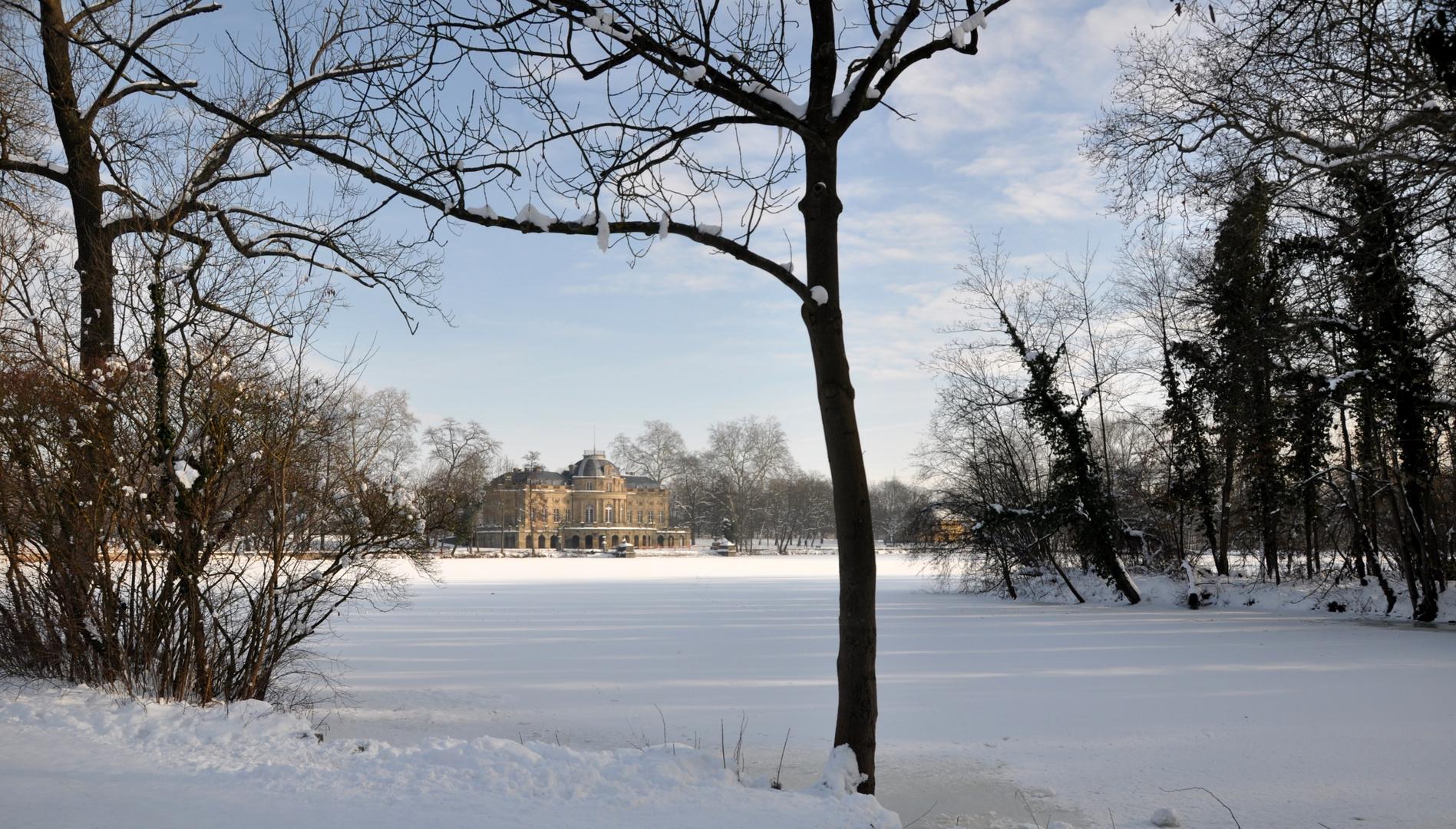 Ludwigsburg- Winter am See