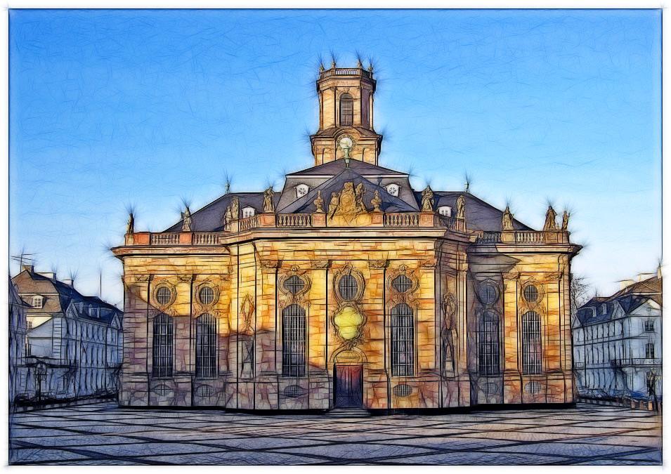 Ludwigskirche gefiltert