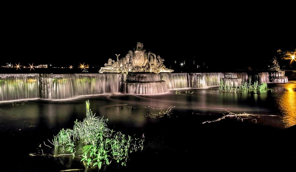 Ludwigsluster Wasserspiele bei Nacht (2)
