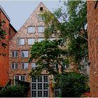 Lübeck - Altstadt - Hinterhof