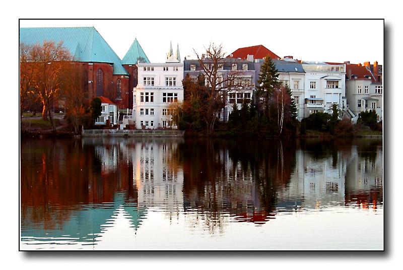Lübeck - Domspiegelung 1/2