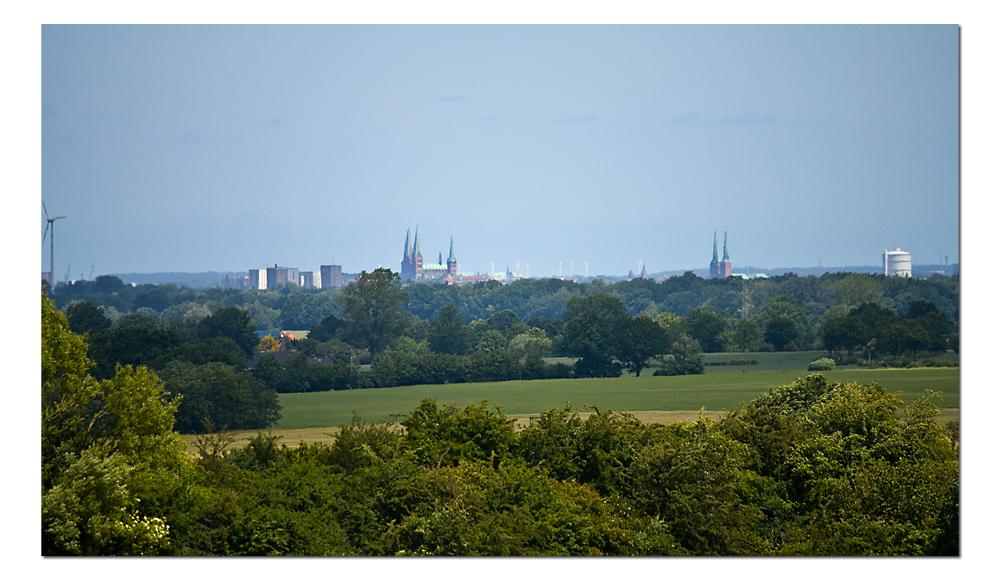 Lübeck-Panorama...
