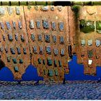 Lübeck - Salzspeicher im Spiegel der Trave