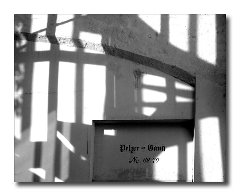 Lübeck - Schattenzeichnung
