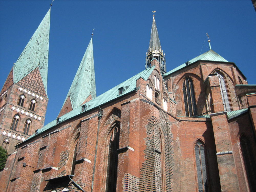 Lübeck (St Marien kirche)