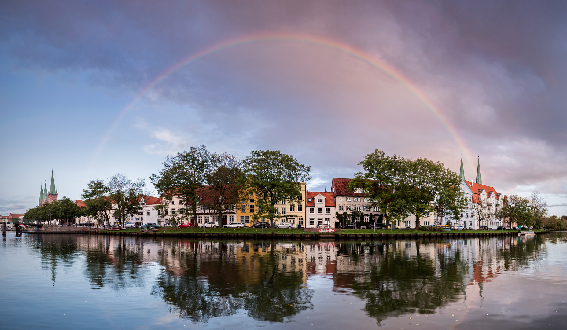 Lübeck unter´m Regenbogen...