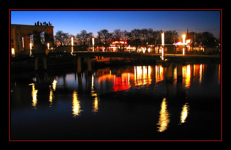 Lübeck - Untertrave am Abend 4