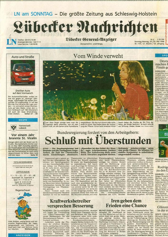 Zeitung Lübeck