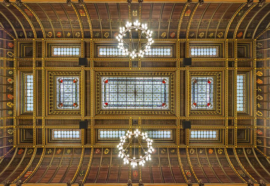 Lübecker Rathaus Decke