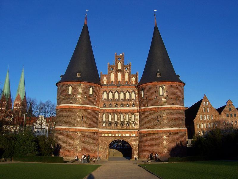 Lübecks Holstentor