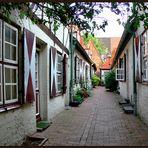 Lübecks Wohngänge - von Höveln - Gang  in der Wahmstraße