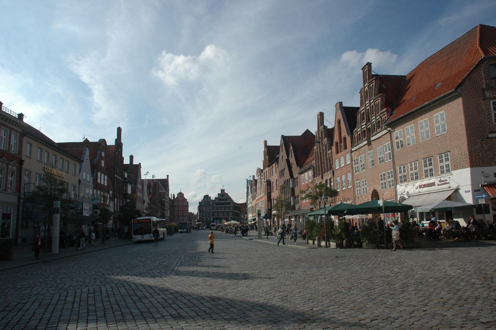 Lüneburg: Am Sande: Historische Häuser