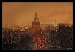 Lüneburg bei Nacht am 02.01.2010