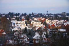 """Lüneburg """"Fake tilt shift"""" Versuch"""