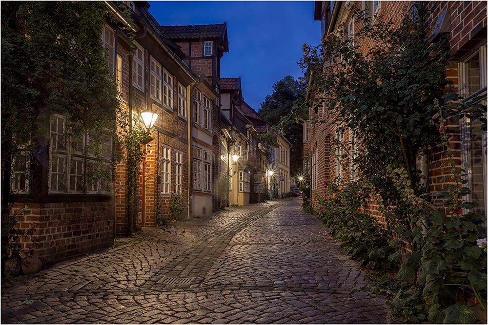 Lüneburg hat viel dieser kleinen Gassen