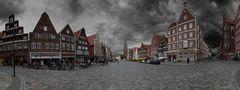 Lüneburg heute Nachmittag ...