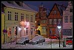 Lüneburg im Schnee - Johann-Sebastian-Bach-Platz /2.