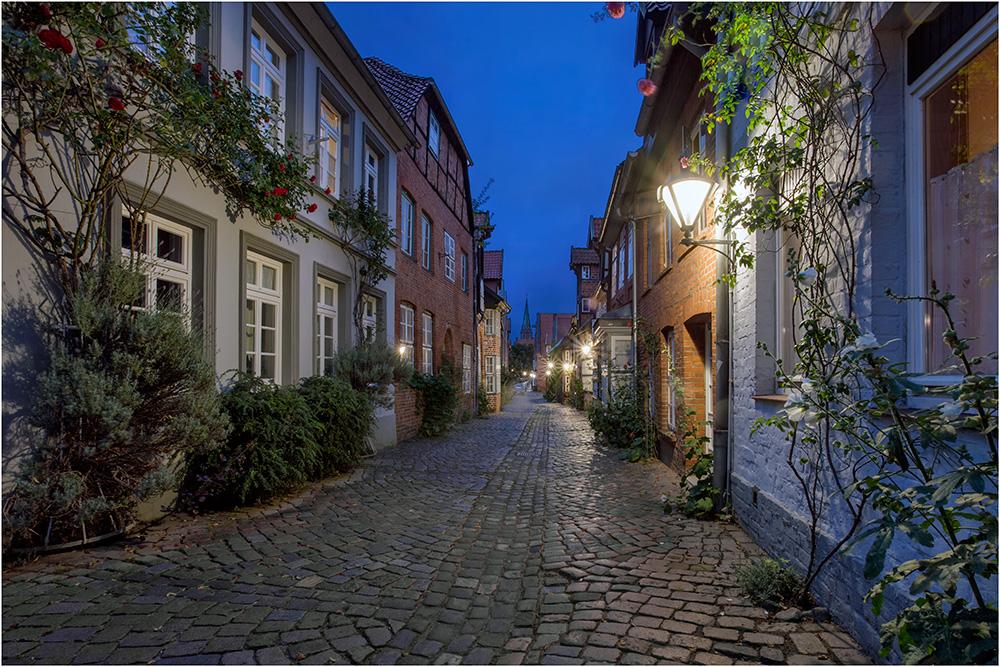 Lüneburg mit seinen kleinen Gassen