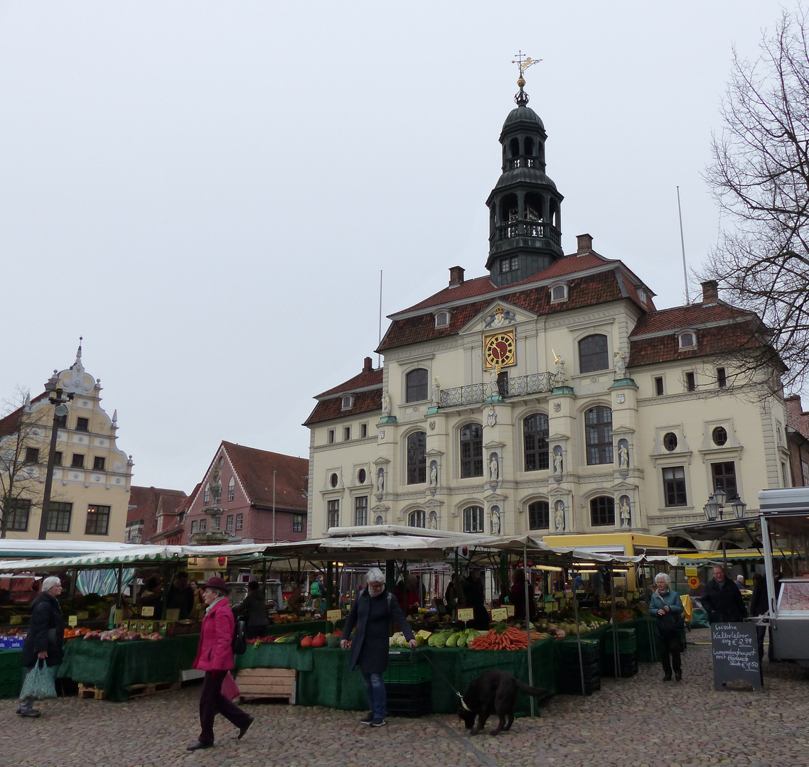 Lüneburger Wochenmarkt