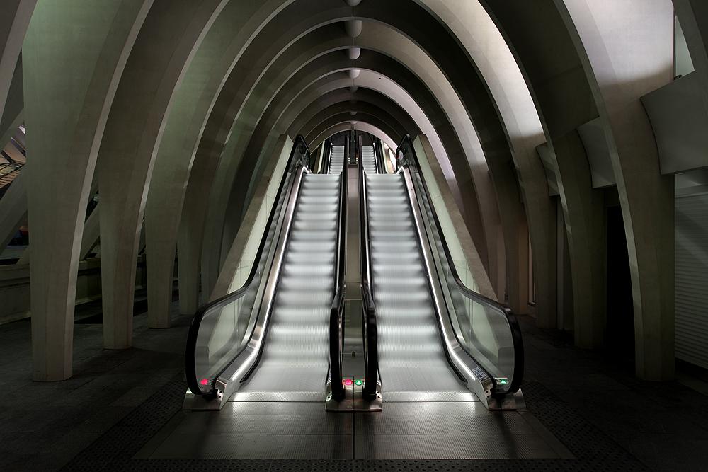 Lüttich - Gare de Guillemins II