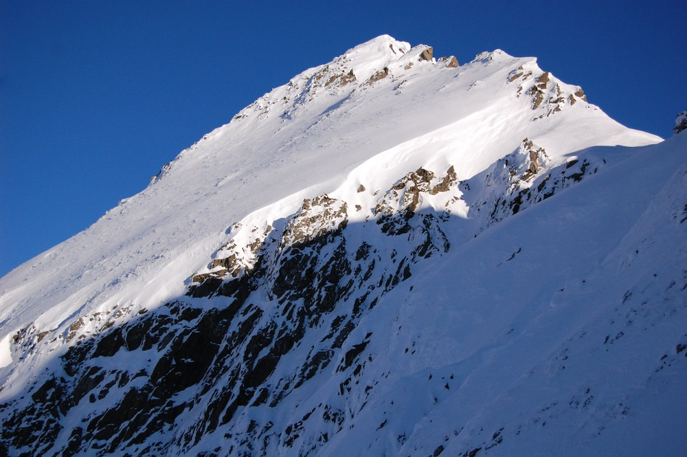 Lueur sur la montagne