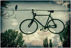 Luft im Rad - Rad in der Luft