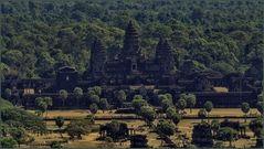 Luftaufnahme Angkor Wat  ©