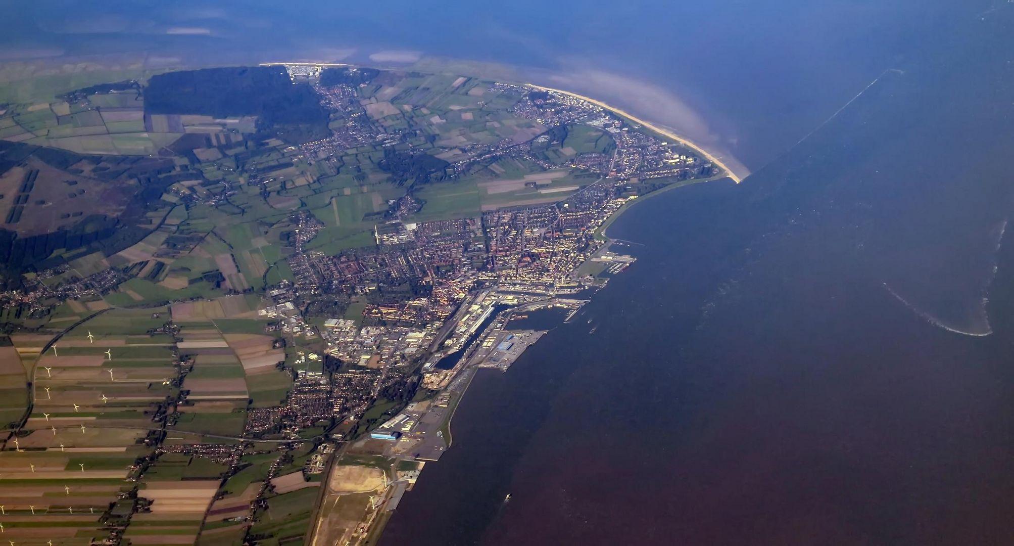 Luftaufnahme Cuxhaven