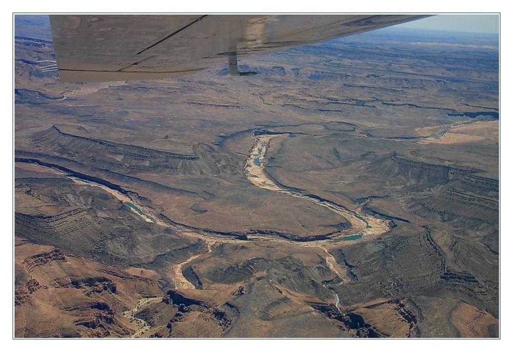Luftaufnahme Fish River Canyon