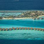 Luftaufnahme Malediven- Wasserwelten -