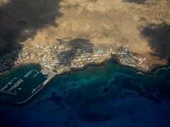 Luftaufnahme von La Graciosa