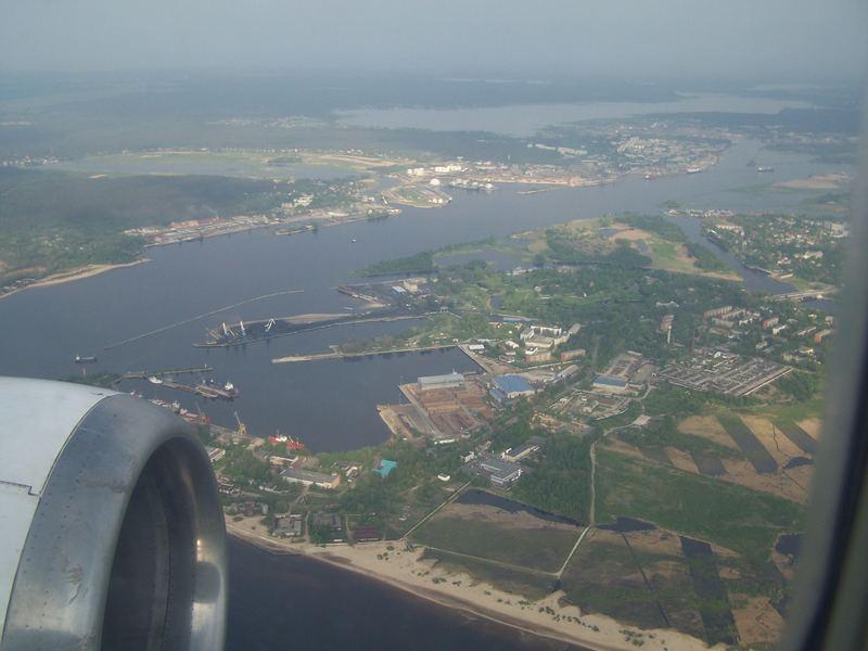 Luftaufnahme von Riga (Lettland)