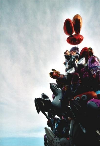 Luftballons - Innen hohl...