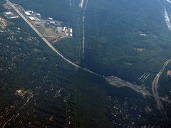 Luftbild Dreilinden