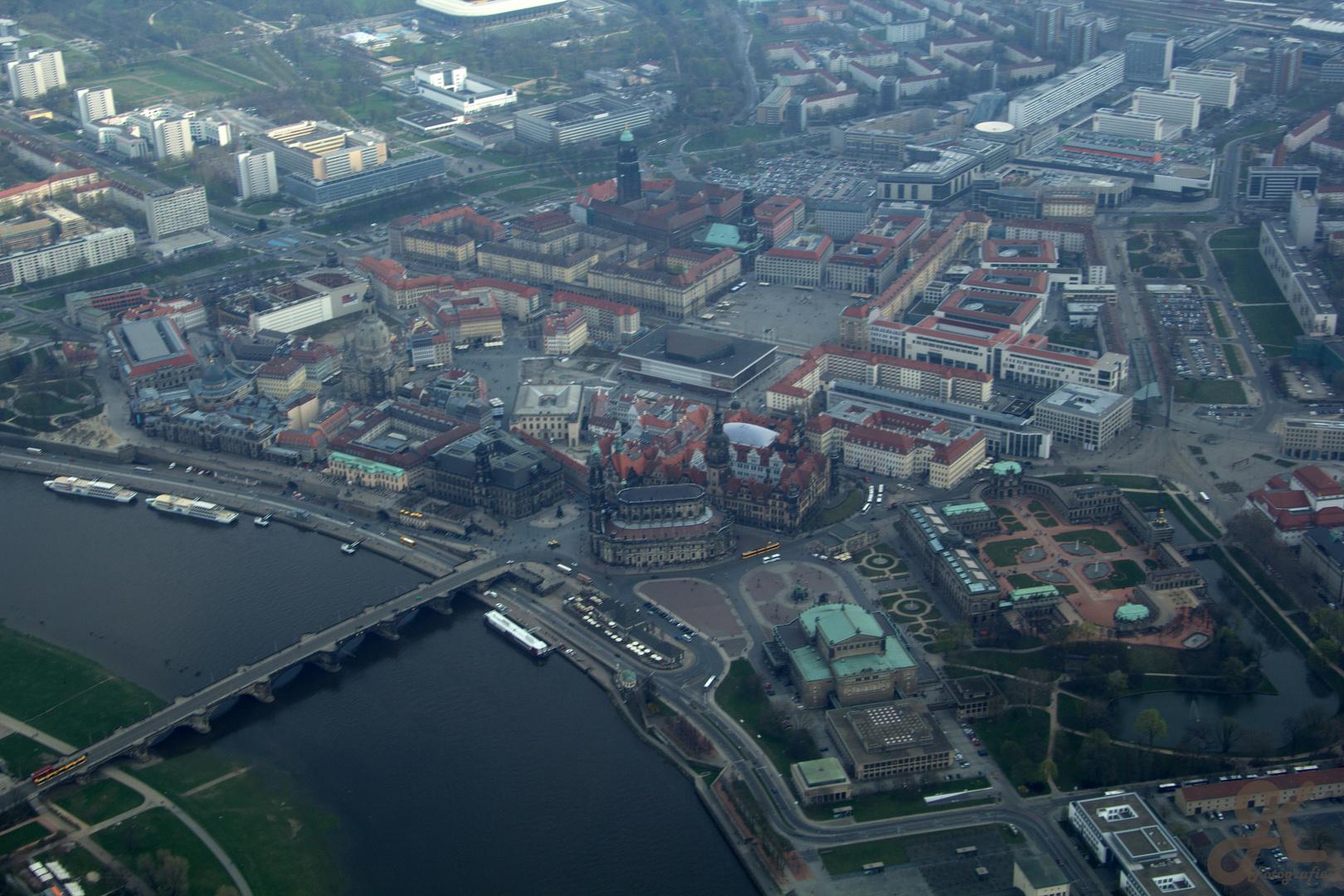Luftbild Dresden