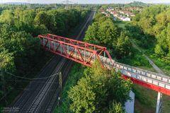 « Luftbild Erzbahntrasse »