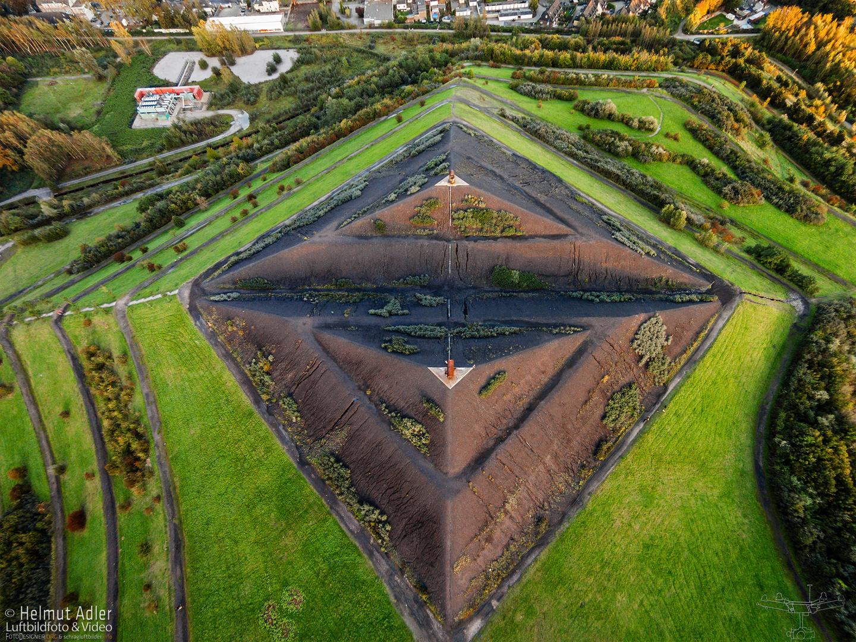 Luftbild Halde Rungenberg