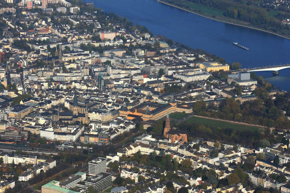 Luftbild von mir Bonn Oktober 2006