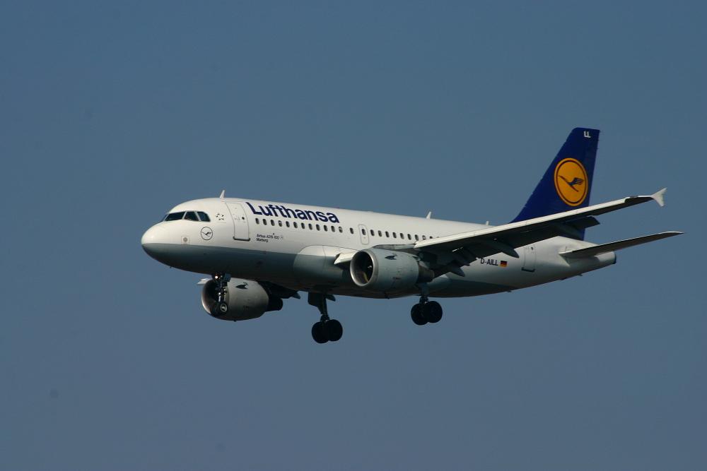 "Lufthansa Airbus 319-100 ""Marburg"""