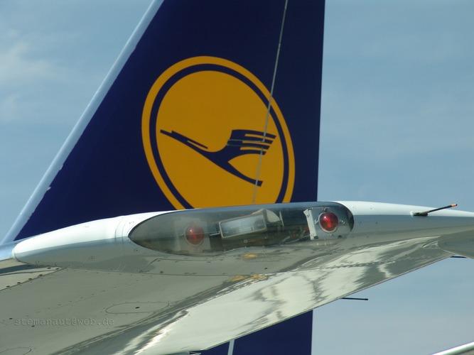 Lufthansa B737-400