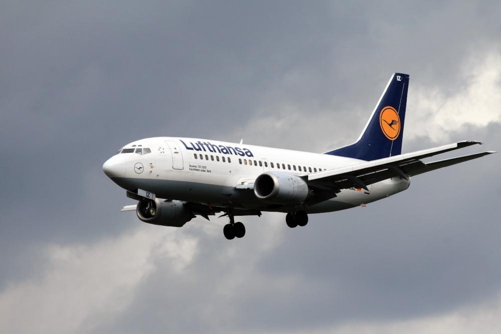 """Lufthansa Boeing 737-500 """"Kirchheim unter Teck"""""""