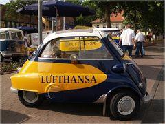 LUFTHANSA fährt BMW