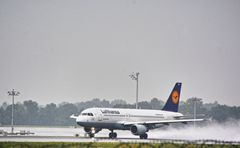 Lufthansa Take Off