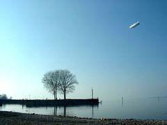 Luftschiff am Bodensee