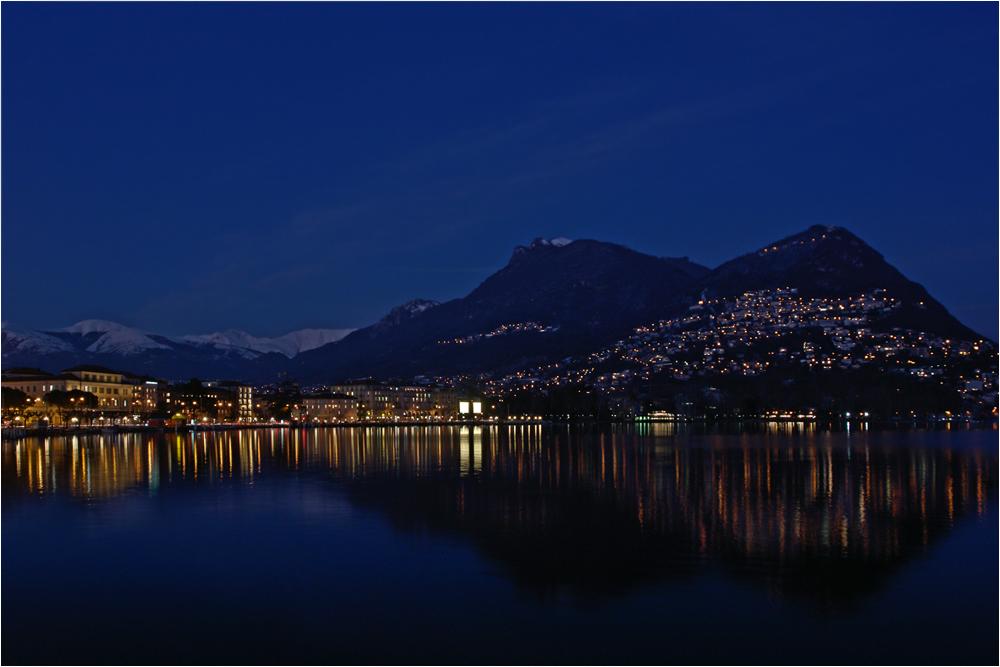 Lugano di notte