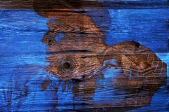 Luis Trenker, in Holz geätzt