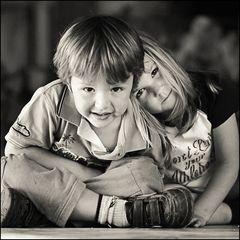 Luis und sein Mädchen